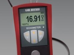 echometer w pomiarze grubosci