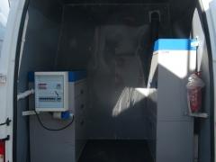 wyposażenie mobilnego laboratorium