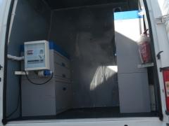 laboratorium w samochodzie