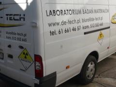 samochód jako laboratorium
